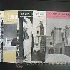 Folletos de turismo: LOTE 71 FASCÍCULOS:CAMINOS DE ESPAÑA. VV.AA. EDITADO COMPAÑÍA ESPAÑOLA DE PENICILINA. MADRID, 1958.. Lote 30020236