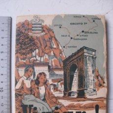 Folletos de turismo: VIAJAR... LIBROS DE VIAJES PARA MUCHACHOS, POR ANTONIO J. ONIEVA - AÑO 1950 - BARCELONA, TORTOSA.... Lote 30149712
