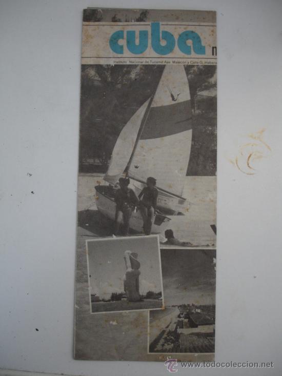 CUBA 1980 (Coleccionismo - Folletos de Turismo)