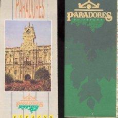 Folletos de turismo: LOTE 2 MAPAS DE PARADORES DE ESPAÑA- . Lote 30255595