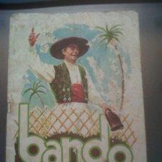 Folletos de turismo: FOLLETO FIESTAS DE PRIMAVERA BANDO DE LA HUERTA DE MURCIA 1975. Lote 30819038