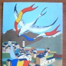 Folletos de turismo: FOLLETO-MAPA DE TURISMO DE ANDORRA. HACIA 1950.. Lote 31262346