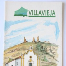 Folletos de turismo: FOLLETO MAPA DESPLEGABLE PLANO VILLAVIEJA AGENCIA VALENCIANA DE TURISMO. Lote 31401429