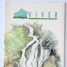 Folletos de turismo: FOLLETO MAPA DESPLEGABLE PLANO VIVER AGENCIA VALENCIANA DE TURISMO. Lote 31401452