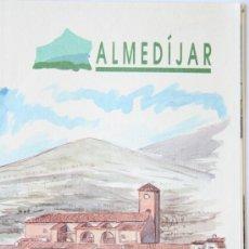 Folletos de turismo: FOLLETO MAPA DESPLEGABLE PLANO ALMEDIJAR AGENCIA VALENCIANA DE TURISMO. Lote 31401939