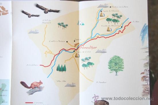 Folletos de turismo: FOLLETO MAPA DESPLEGABLE PLANO ALMEDIJAR AGENCIA VALENCIANA DE TURISMO - Foto 3 - 31401939