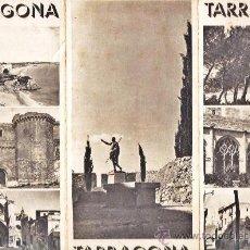 Folletos de turismo: FOLLETO TURISTICO - TARRAGONA - TAMARIT / POBLET - ED. CASTELLANO - ED. M. TURISMO - AÑOS 40 - TGN. Lote 31547585