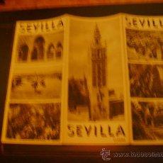 Folletos de turismo: TRÍPTICO TURÍSTICO DE SEVILLA. Lote 31569958