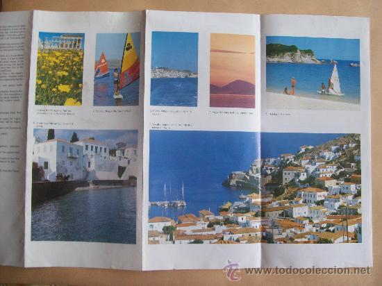 Folletos de turismo: GREECE SARONIC GULF ISLAND. 1988 - Foto 3 - 31763934