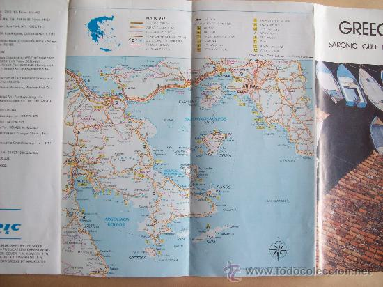Folletos de turismo: GREECE SARONIC GULF ISLAND. 1988 - Foto 4 - 31763934