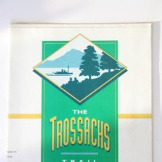 Folletos de turismo: FOLLETO THE TROSSACHS TRAIL. Lote 31806685