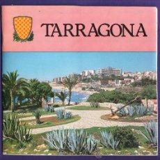 Folletos de turismo: GUIA TURISTICA DE TARRAGONA - ED AJUNTAMENT / WEKA - CON PLANO PANORAMICO - TGN - AÑO 1986. Lote 31870768