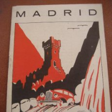 Folletos de turismo: MADRID. GUIA R·A·G·A·Y. CARRETERAS.. Lote 32358785
