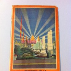 Folletos de turismo: EXPOSICION INTERNACIONAL BARCELONA 1929. Lote 32408091