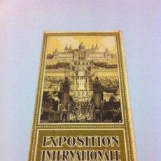 Folletos de turismo: EXPOSICION INTERNACIONAL BARCELONA 1929. Lote 32408113