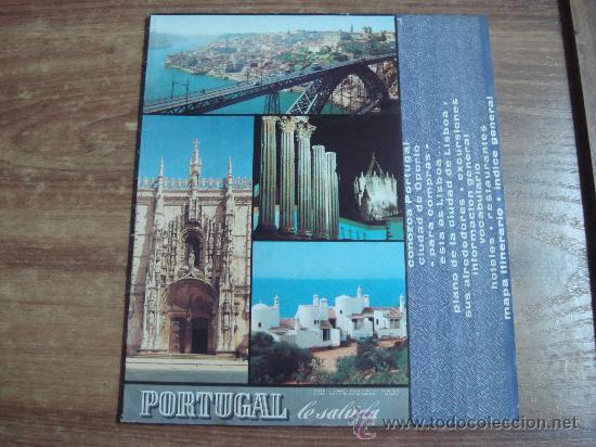 FOLLETO.-GUIA TURISTICA DE PORTUGAL.-CIUDAD DE OPORTO.-LISBOA.-INFORMACION GENERAL.-22 PAG.- (Coleccionismo - Folletos de Turismo)