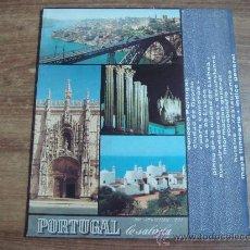 Folletos de turismo: FOLLETO.-GUIA TURISTICA DE PORTUGAL.-CIUDAD DE OPORTO.-LISBOA.-INFORMACION GENERAL.-22 PAG.-. Lote 32523647
