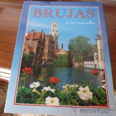 Folletos de turismo: LIBRO GUIA-BRUJAS Y SUS MARAVILLAS-(BELGICA)- . Lote 32604425