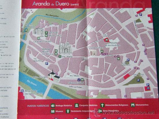 Aranda Del Duero Mapa.Aranda Y La Ribera Del Duero Burgos Castilla Y Leon Mapa Comarca Y Plano Aranda 2010 1ª Ed