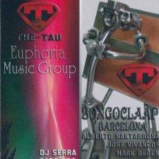 Folhetos de turismo: HOJA FOLLETO SESION DJ SALA GOLFUS DE TARRAGONA 17 - 18 Y 25 AGOSTO 2012. Lote 32812406