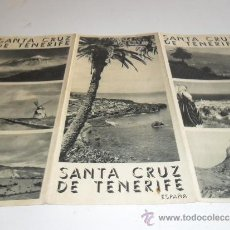 Folletos de turismo: FOLLETO TURISTICO SANTA CRUZ DE TENERIFE. Lote 32922355