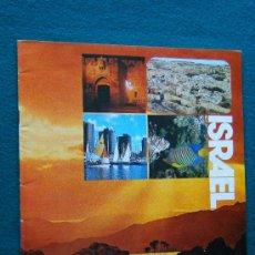 Foglietti di turismo: ISRAEL - EL AL - MINISTRY OF TOURISM - MUY ILUSTRADO EN COLOR - 1980 ? - EDICION EN PORTUGUES. Lote 33051792