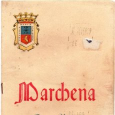 Folletos de turismo: MARCHENA, SEVILLA,1961, REVISTA FERIA Y VELADA DEL CORPUS. Lote 33276129