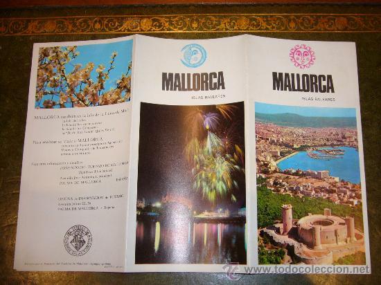Folletos de turismo: TRES PROSPECTOS TURISTICOS MALLORCA (ISLAS BALEARES) - Foto 2 - 33554242