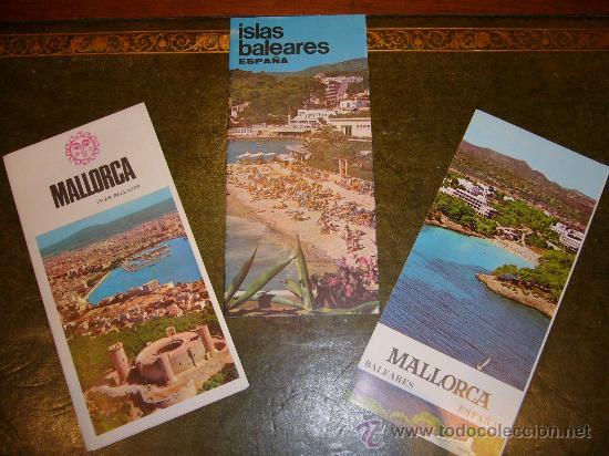 Folletos de turismo: TRES PROSPECTOS TURISTICOS MALLORCA (ISLAS BALEARES) - Foto 3 - 33554242