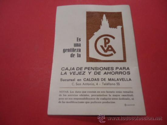 Folletos de turismo: HORARIOS DE TRENES ENTRE BARCELONA Y PORT-BOU 1971 TREN FERROCARIL - Foto 3 - 34641445