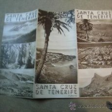 Folletos de turismo: FOLLETO DE TURISMO SANTA CRUZ DE TENERIFE. Lote 34822147