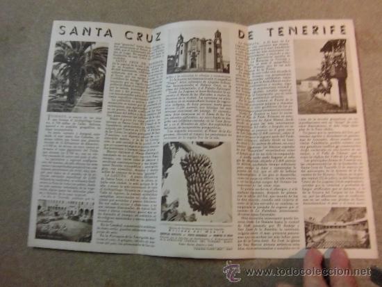 Folletos de turismo: FOLLETO DE TURISMO SANTA CRUZ DE TENERIFE - Foto 2 - 34822154