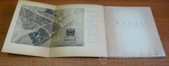 Folletos de turismo: BAEZA. CIUDAD HISTORICA, ARTISTICA Y MONUMENTAL. 1948. - Foto 2 - 35391411