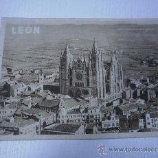 Folletos de turismo: LEON - FOLLETO TURISTICO - AÑOS 50 - NUMEROSAS FOTOGRAFIAS. Lote 35189614