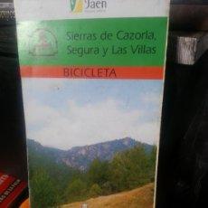 Folletos de turismo: CL77//SIERRAS DE SEGURA CAZORLA Y LAS VILLAS//CABALLO. Lote 35314987