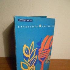 Folletos de turismo: CATALUNYA UNIVERSAL Nº 5 (LOS JUEGOS OLIMPICOS DE 1992) LIBRITO + 3 POSTALES. Lote 36283313