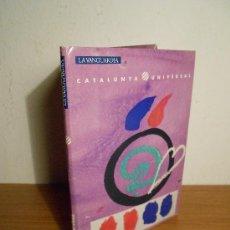 Folletos de turismo: CATALUNYA UNIVERSAL Nº 16 (EL F.C. BARCELONA)) LIBRITO + 3 POSTALES. Lote 36283168