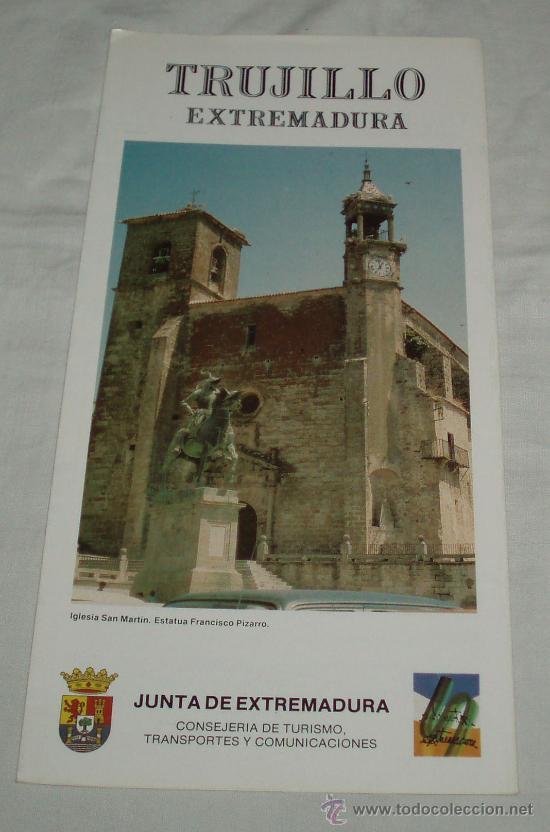 turismo extremadura folletos
