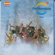 Folletos de turismo: FOLLETO GUIA PARQUE TEMATICO PORT AVENTURA 2007. Lote 116495660