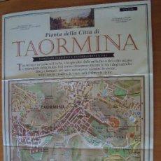 Folletos de turismo: MAPA TAORMINA - SICILIA -. Lote 2695994