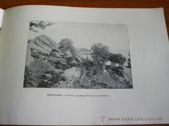 Folletos de turismo: ALBUM DEL SANTUARI DE NOSTRA SENYORA DE LA SALUT. - Foto 4 - 37459430