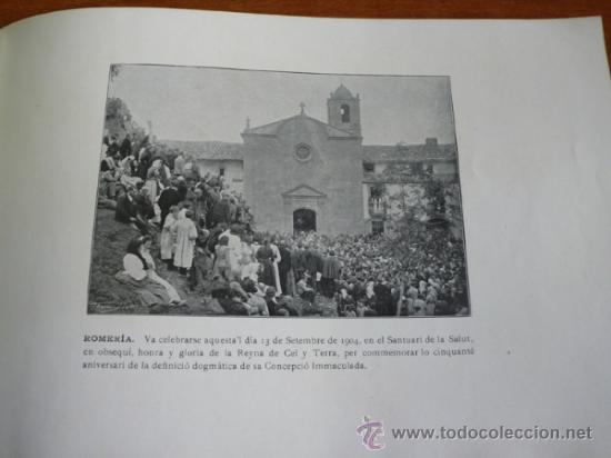 Folletos de turismo: ALBUM DEL SANTUARI DE NOSTRA SENYORA DE LA SALUT. - Foto 5 - 37459430