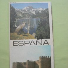 Folletos de turismo: FOLLETO TURÍSTICO DESPLEGABLE DE ESPAÑA. Lote 37686901