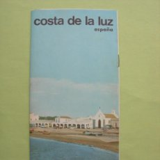 Folletos de turismo: FOLLETO TURÍSTICO DESPLEGABLE COSTA DE LA LUZ. Lote 37687034