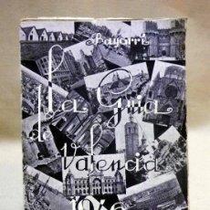 Folletos de turismo: LA GUIA DE VALENCIA, EDITADA POR BAYARRI, 1946. Lote 37778438