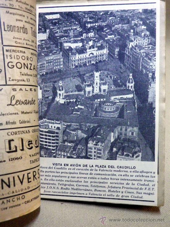 Folletos de turismo: LA GUIA DE VALENCIA, EDITADA POR BAYARRI, 1946 - Foto 3 - 37778438