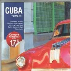 Folletos de turismo: AR-01 CUBA FOLLETO REVISTA DE TURISMO GUIA DE VIAJE LA HABANA CAYO COCO GUARDALAVACA CAYO LARGO ETC. Lote 37809228