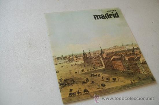 ESPAÑA, MADRID.- MIDE 22 X 20 CM.- CON 24 PÁG., INCLUIDAS LAS TAPAS, ILUSTRADO. (Coleccionismo - Folletos de Turismo)