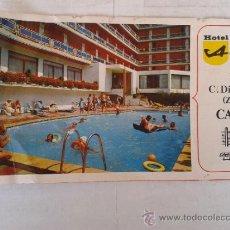 Folletos de turismo: ANTIGUA PUBLICIDAD HOTEL AMAIKA CALELLA AÑOS 70. Lote 39538944