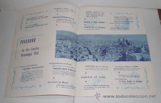 Folletos de turismo: CADIZ - Fiestas Veraniegas - 1956 (Programa de las Fiestas Veraniegas) - Foto 2 - 38225364